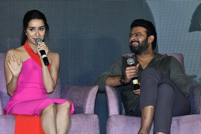 Saaho Media Meet
