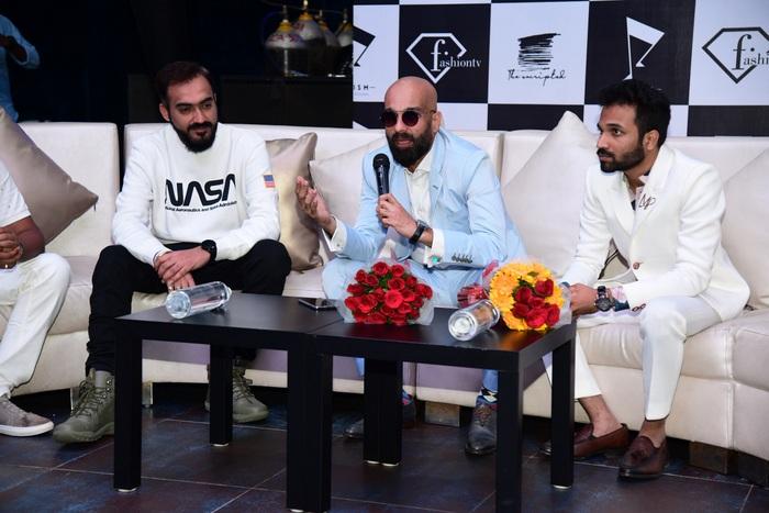 Actor Allu Arjun at Fashion TV