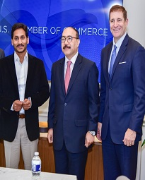 Jagan @ US India Business Council Round Table Conference