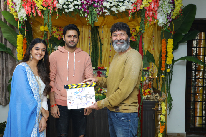Nithin New Movie Opening