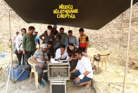 Meeku Maathrame Cheptha Working Stills  title=