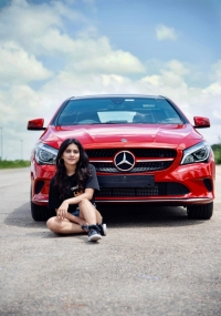 Nabha Natesh gifts herself Mercedes  title=