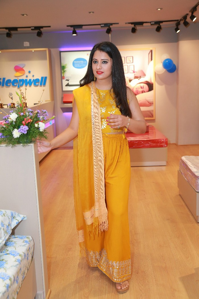 Nikita Launches Sleepwell ShowRoom at Gachibowli