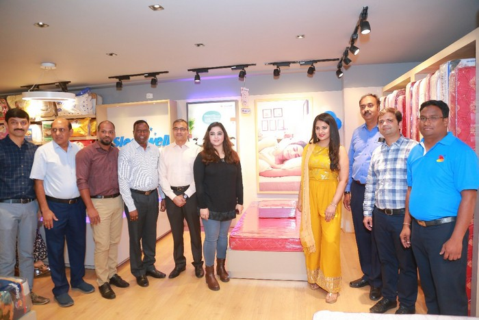 Nikita Launches Sleepwell ShowRoom at Gachibowli