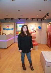 Nikita Launches Sleepwell ShowRoom at Gachibowli  title=