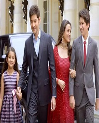 Mahesh Family