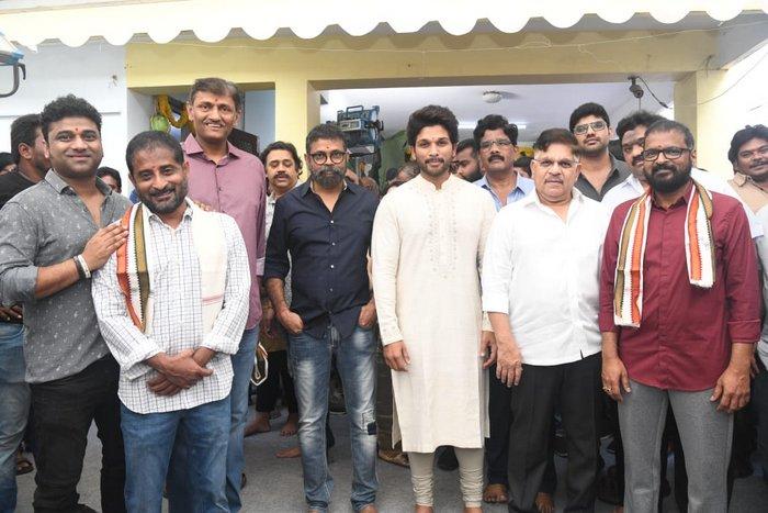 Allu Arjun-Sukumar Movie opening