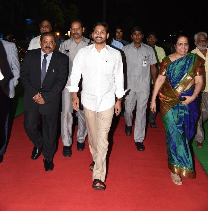 Jagan meeting with MLAs