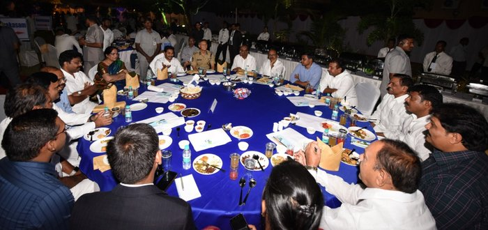 Jagan meeting with MLAs