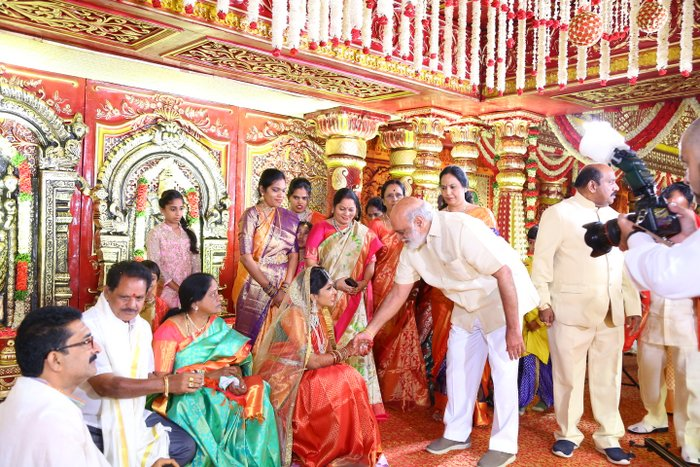 Kodi Ramakrishna's Daughter Pravalika Wedding
