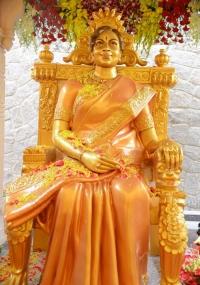 Vijaya Nirmala Statue Inauguration  title=