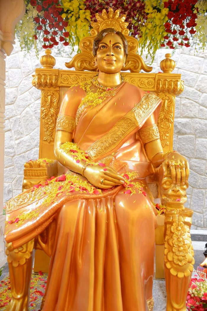 Vijaya Nirmala Statue Inauguration
