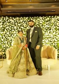 Jaya Sudha Son Wedding Reception  title=