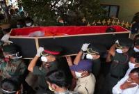 Tearful Goodbye To Santosh Babu  title=