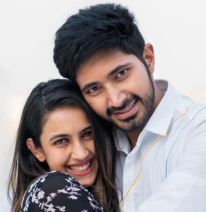 Niharika with beau Chaitanya JV