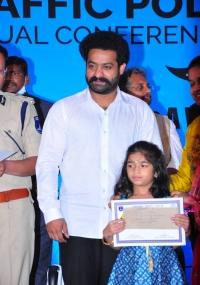 NTR at Cyberabad Traffic Police  title=
